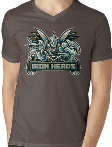 Team Steel Types - Iron Heads Mens V-Neck T-Shirt