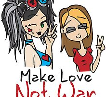 Make Love Not War by PlagueRat