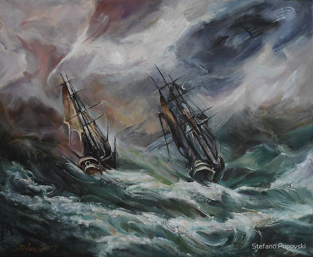 Open Sea - Dangerous Drift by Stefano Popovski