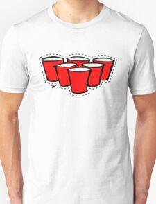 Beer Pong Cutout T-Shirt