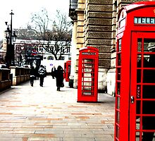 London Phone-boxes by tommo1192