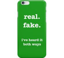 i've heard it both ways: psych iPhone Case/Skin
