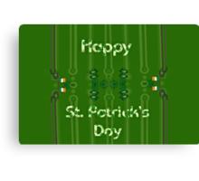Happy St. Patrick's Day! Canvas Print