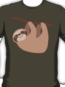 Cute Sloth on a Branch T-Shirt