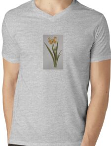 Wild Jonquil Mens V-Neck T-Shirt