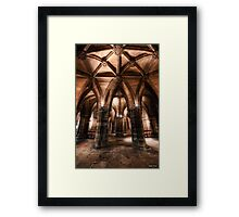 Cloisters || Glasgow Cathedral, Glasgow Framed Print