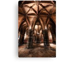 Cloisters || Glasgow Cathedral, Glasgow Canvas Print