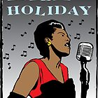 Billie Holiday by Rich Anderson