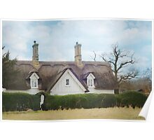 The Thatched Cottage Poster