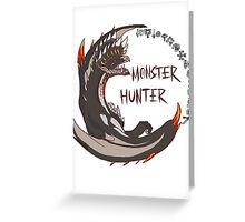 Monster Hunter Alatreon Greeting Card