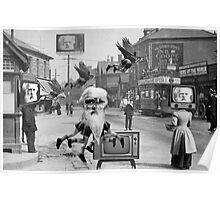 Eadweard Muybridge in Newport. Poster