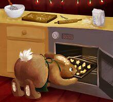 Cookie bunny by Petra van Berkum