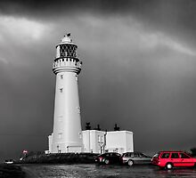 Flamborough Downpour by theoldsnapper