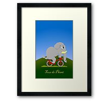 Tour de Phant Framed Print