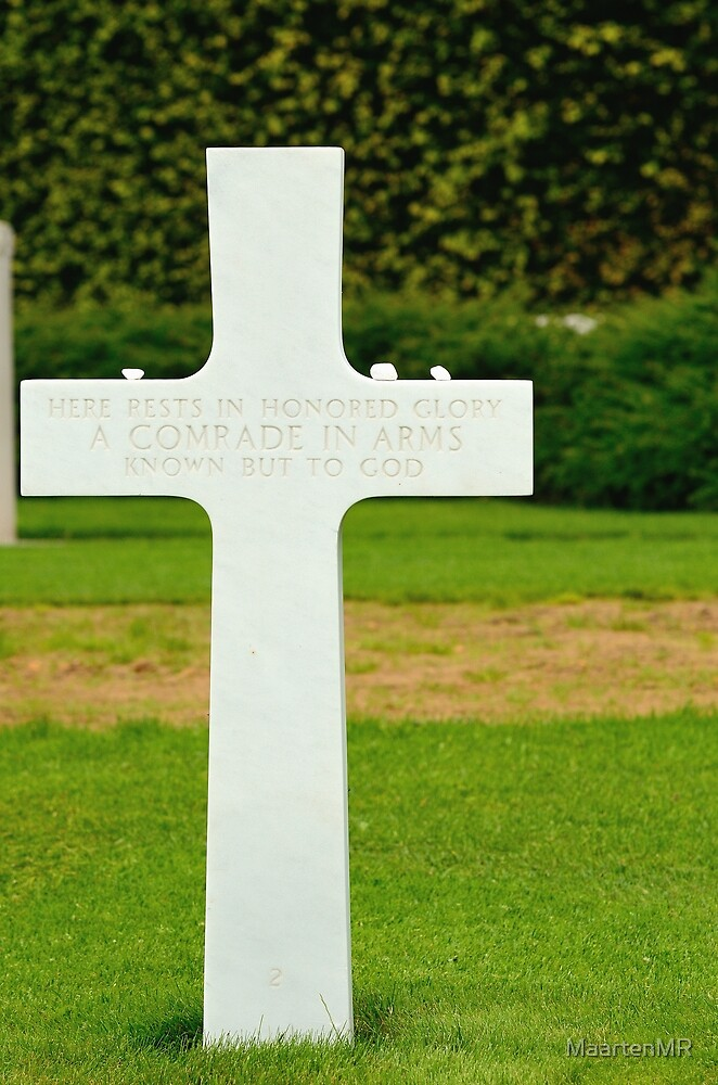 Luxemburg American Cemetery and Memorial by MaartenMR