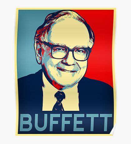 Warren Buffett  Hope Poster Poster