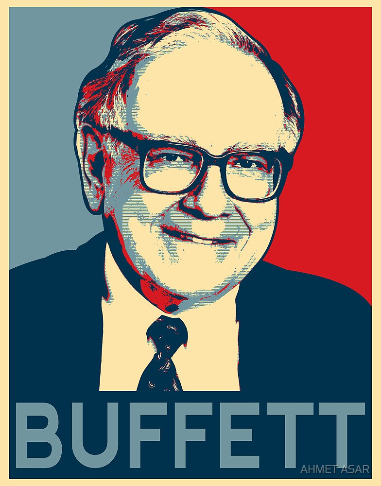 Warren Buffett by Adam Asar