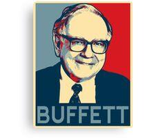 Warren Buffett Canvas Print