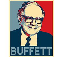 Warren Buffett Photographic Print