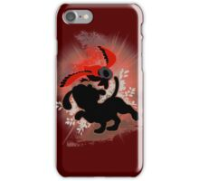 Super Smash Bros. Red Duck Hunt Silhouette iPhone Case/Skin