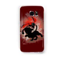 Super Smash Bros. Red Duck Hunt Silhouette Samsung Galaxy Case/Skin