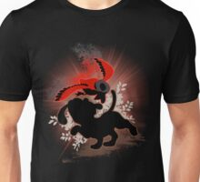 Super Smash Bros. Red Duck Hunt Silhouette Unisex T-Shirt