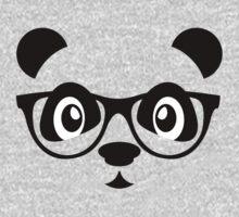 Cute nerd panda T-Shirt
