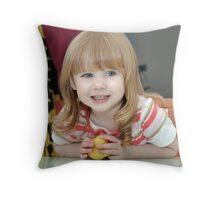My Little Grandaughter Skye Throw Pillow