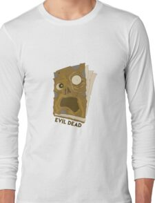 Necronomicon Ex-Mortis Long Sleeve T-Shirt