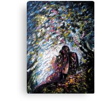 I am with my LOVE Canvas Print