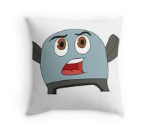 Brave Little Toaster Throw Pillow