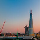 The new London Skyline by SwampDogPhoto