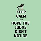 Keep Calm & Hope The Judge Didn't Notice Case by Patricia Barmatz