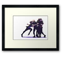 """And the winners are..."" Framed Print"