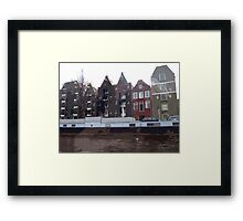 Houses of Amsterdam Framed Print
