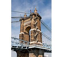 John A. Roebling Suspension Bridge Photographic Print