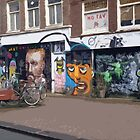 Street Art in Amsterdam by Lorren Stewart