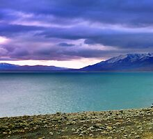 Moods of Pyramid Lake Two by SB  Sullivan