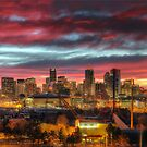 Red Denver Dawn by greg1701