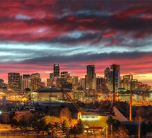 Red Denver Dawn by greg1701
