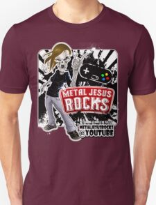 Undead Rocker - Metal Jesus Rocks (YOUTUBE) Unisex T-Shirt
