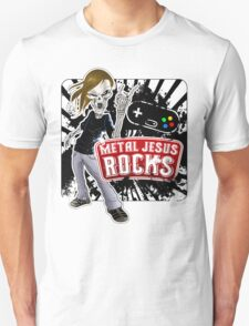 Undead Rocker - Metal Jesus Rocks Unisex T-Shirt