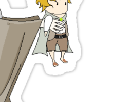 It's Dangerous to Go Alone. Take this. Sticker
