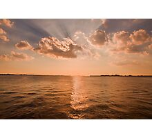 Evening Glory  Photographic Print