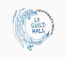 Monster Hunter Le Guild Hall-White Reusu Unisex T-Shirt