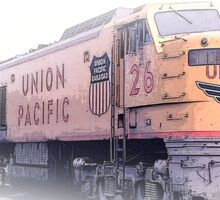 union pacific Sticker