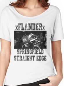 xFLANDERx - Springfield Straight Edge Women's Relaxed Fit T-Shirt