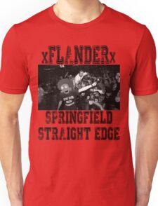 xFLANDERx - Springfield Straight Edge Unisex T-Shirt