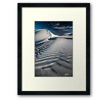 Dune Drifts Framed Print