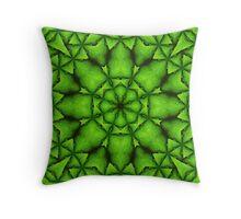 Emerald Cache Throw Pillow
